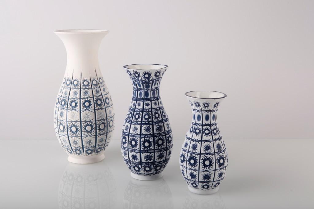 ručně broušená váza / foto: Martin Šnajdr a Lukáš Oujeský