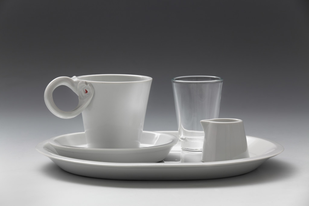 Kávový servis pro Ústav umění a designu v Plzni